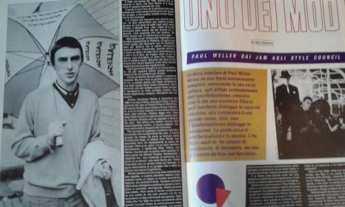 """Paul Weller """"uno dei mod"""": intervista degli anni 80 su ROCKSTAR"""