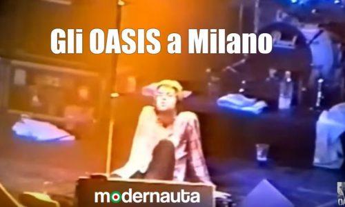 Il concerto degli Oasis a Milano il 29 Marzo 1996 (Full Concert)