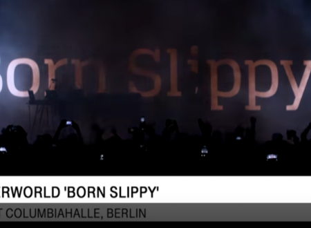 Underworld – Born Slippy (video Live a Berlino nel 2016)