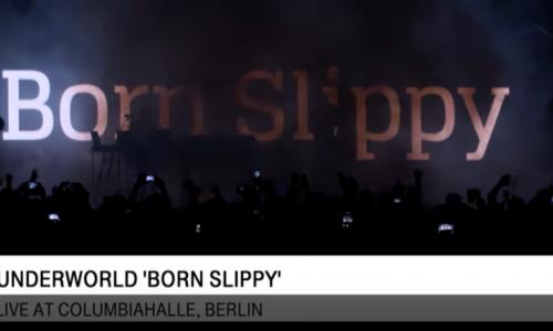 Underworld – Born Slippy (video Live a Berlino nel 2016)
